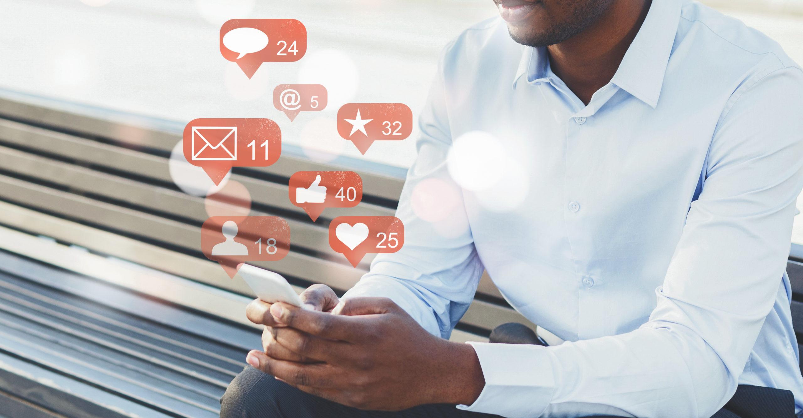 Social Media Notification Icons