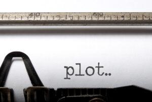 Plot Printed On Typewriter