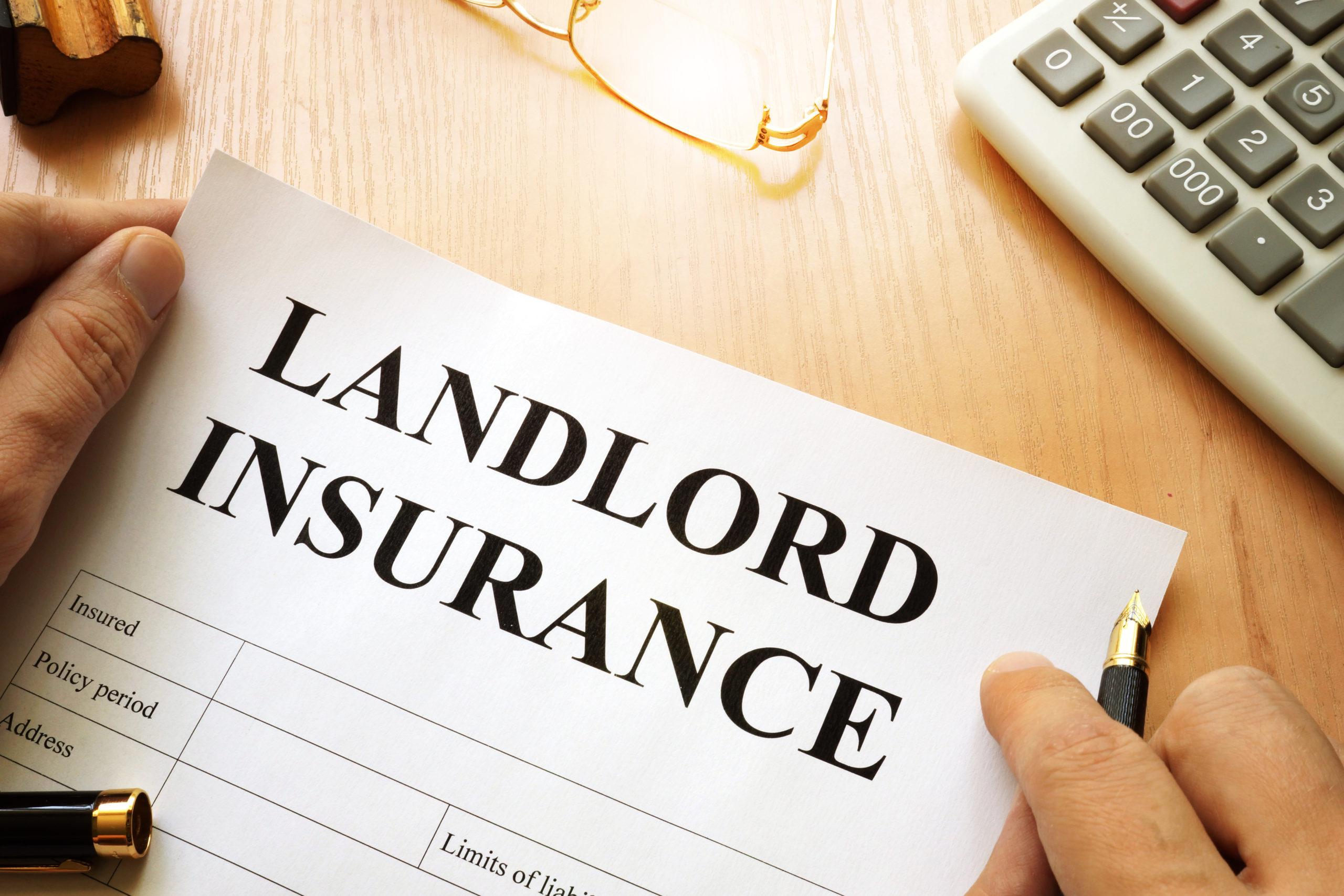 Document Stating Landlord Insurance