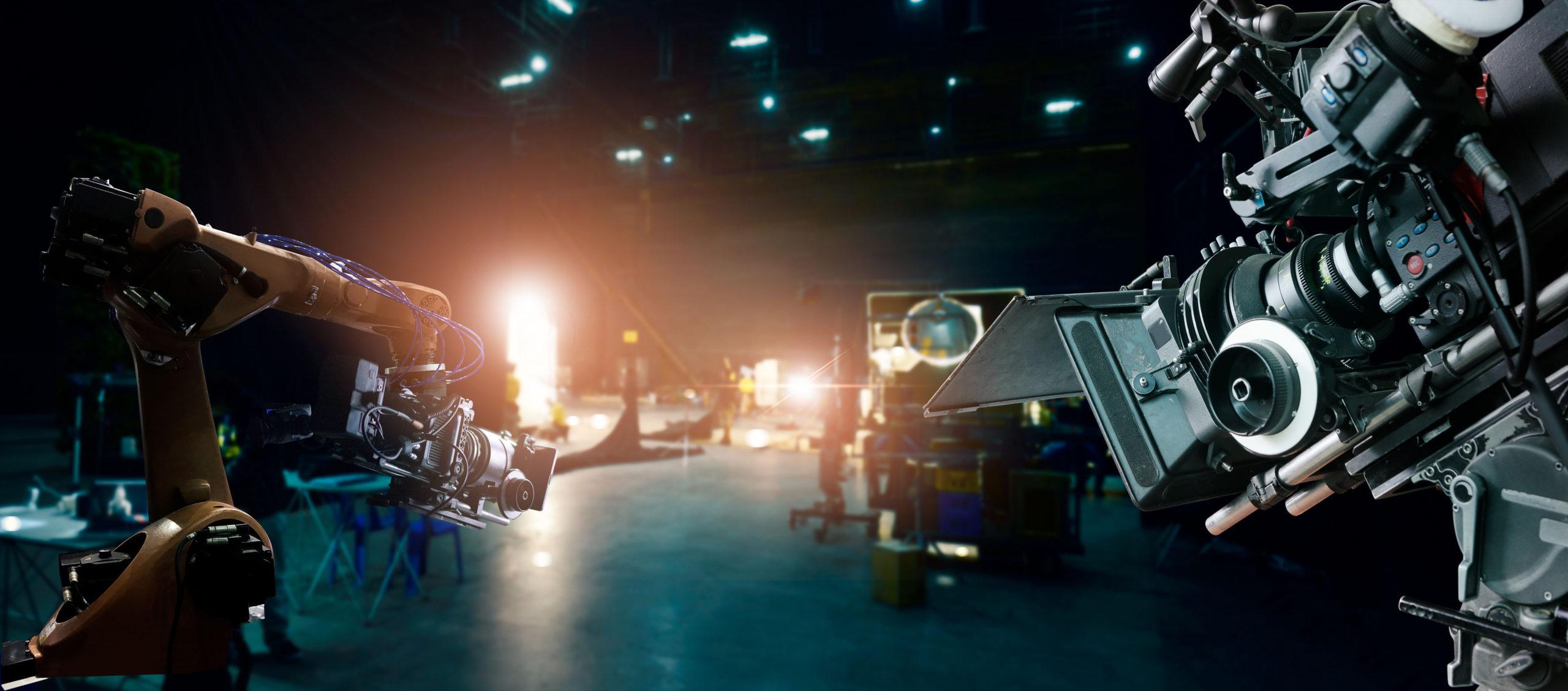 Film Studio With Equipment