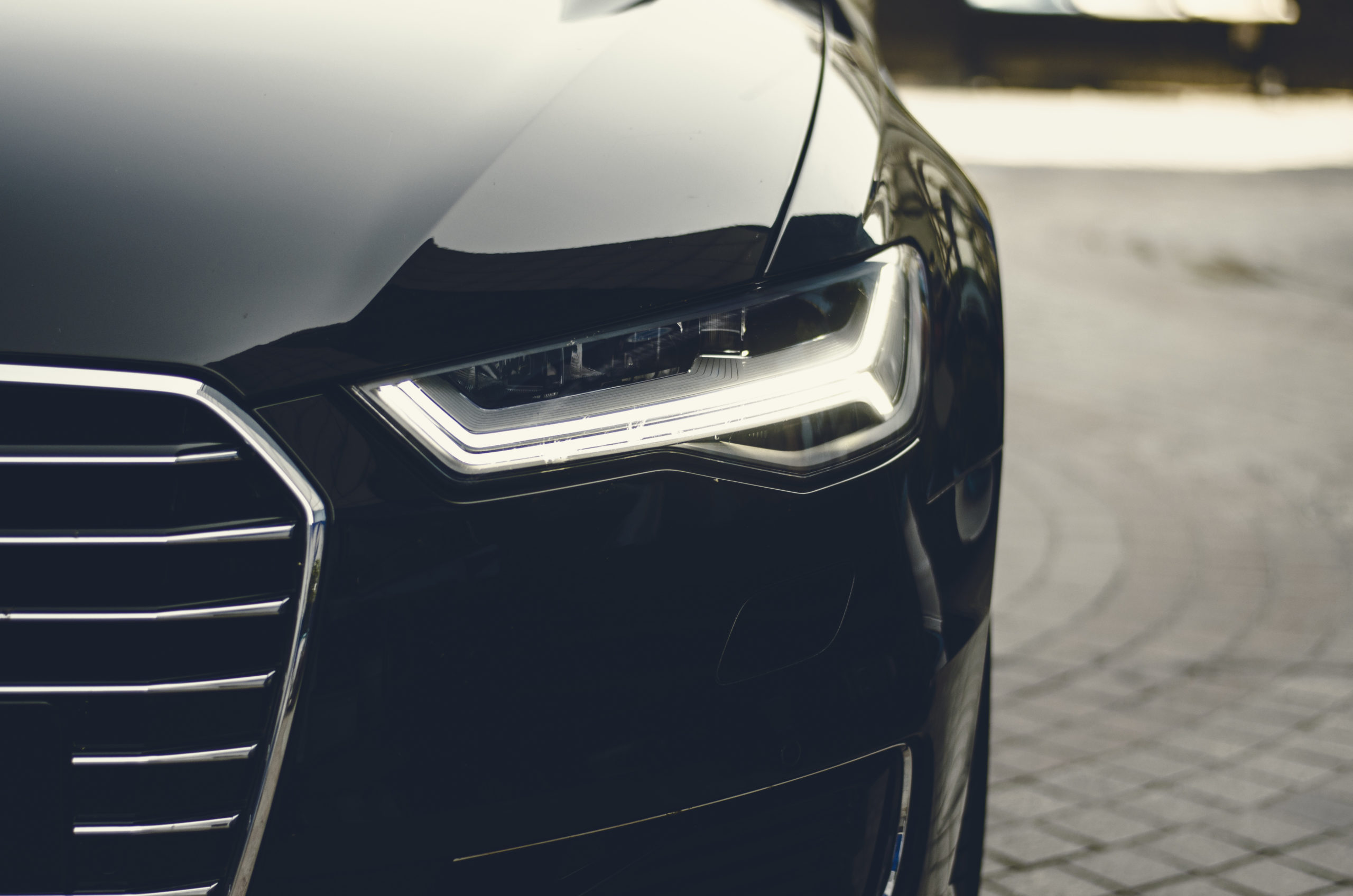 Front Of Audi