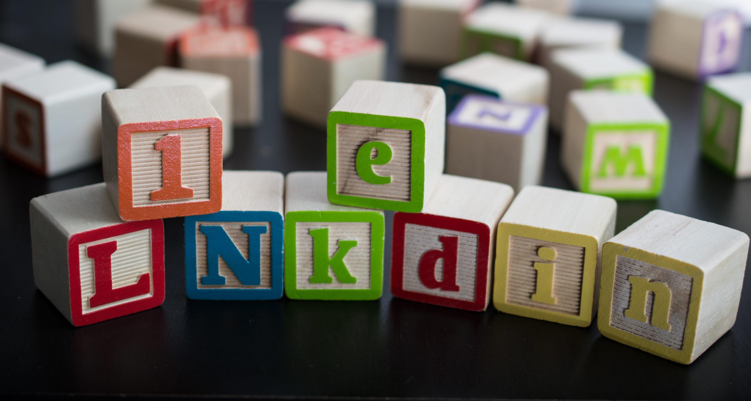 Blocks Spelling LinkedIn