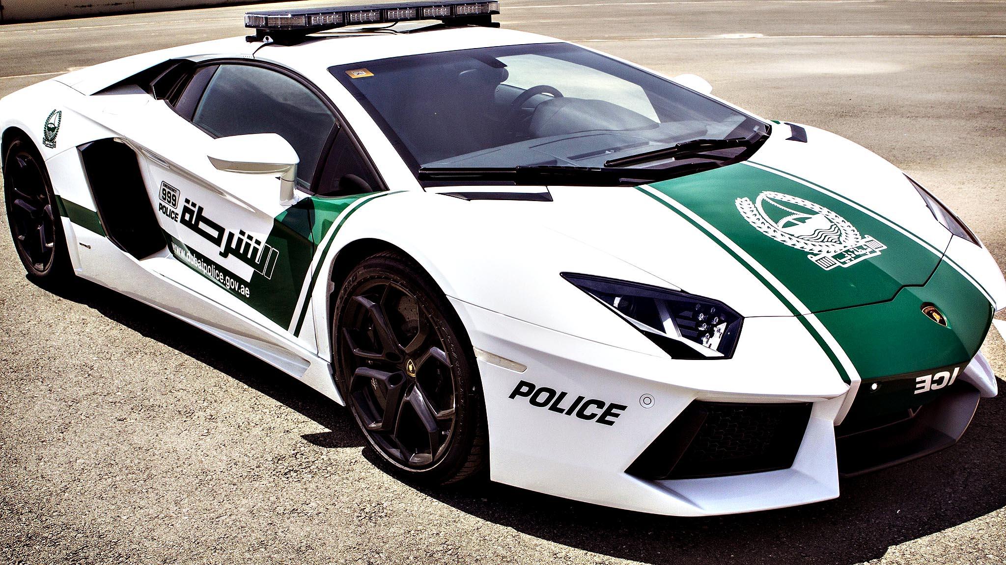 Dubai Police - Lamborghini