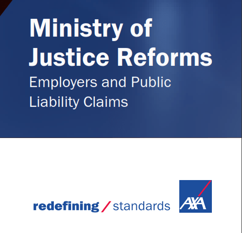 AXA Ministry Of Justice Reforms