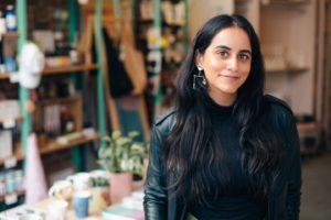 Happy Entrepreneur In Her Store