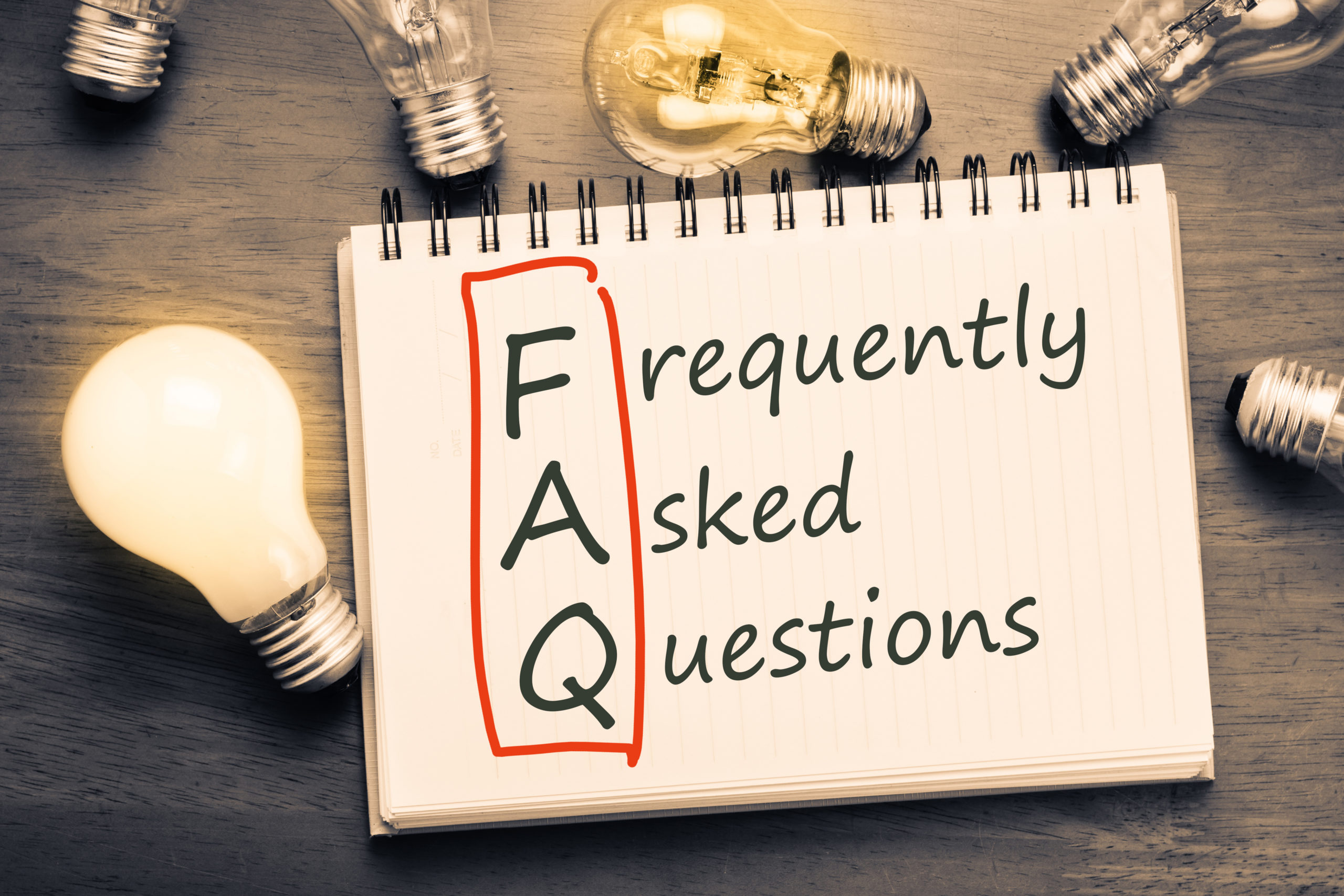 Frequently Asked Questions Text